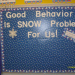 January Behavior Board