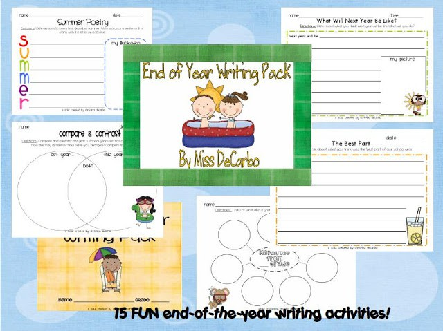 New Writing Unit & Freebie! :)