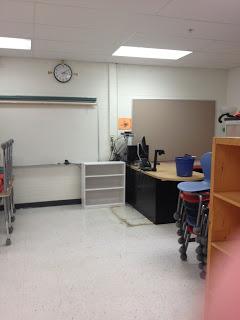My New Classroom…