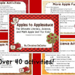 Apples to Applesauce! {The Ultimate Science, Literacy, and Math Unit for Kids!}