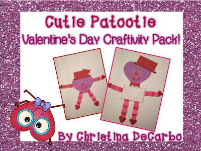 Cutie Patootie Craftivity Pack!!