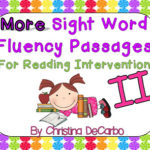 It's here!! MORE Sight Word Passages {Version 2.0} & TA Sale!