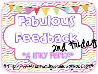 Fabulous Feedback Linky Party!