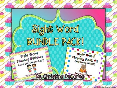 Sight Word Builder Bundle Pack & Last Day for Sale!