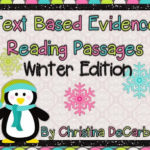 Winter Edition! Text Based Evidence Reading Passages