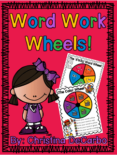Word Work Wheels: Spice Up Your Word Work Center!