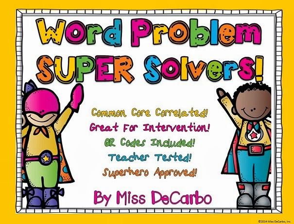 SUPER Solvers To The Rescue!! Word Problem Intervention