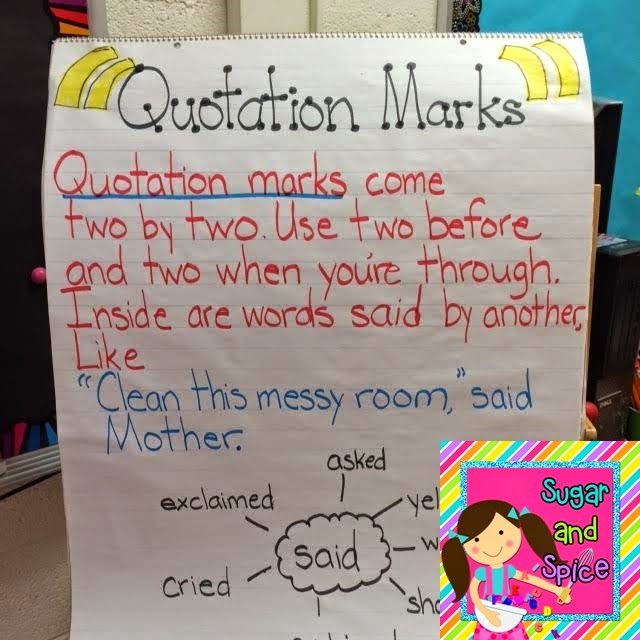 Who Said That Dialogue And Quotation Mark Unit For Readers. Then We Learned How To Correctly Write The Dialogue With Quotation Marks And Mas In Appropriate Places. Third Grade. Quotation Marks Worksheet Third Grade At Clickcart.co