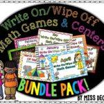 Tieks Giveaway Winner and Math Center Bundle!