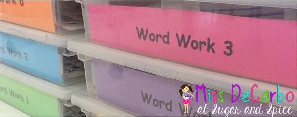 All About My Word Work Stations! Easy, Simple, Fun!