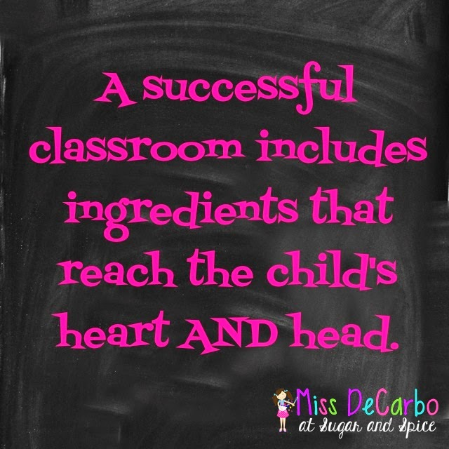 What Are Your Teaching Ingredients? {A Linky Recipe!}