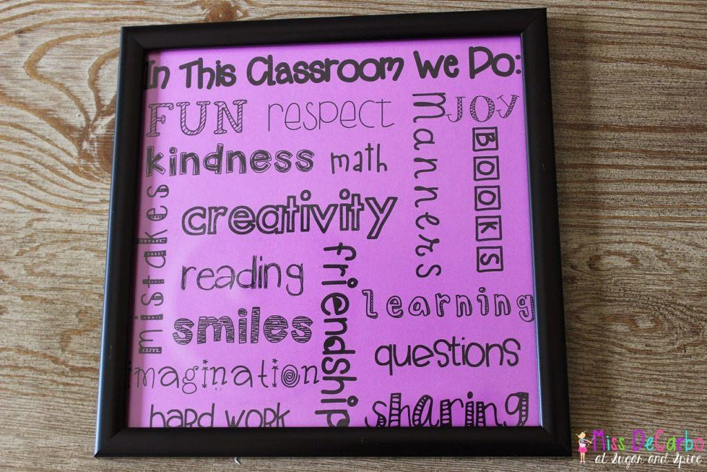 Classroom Decor Diy Projects Miss Decarbo