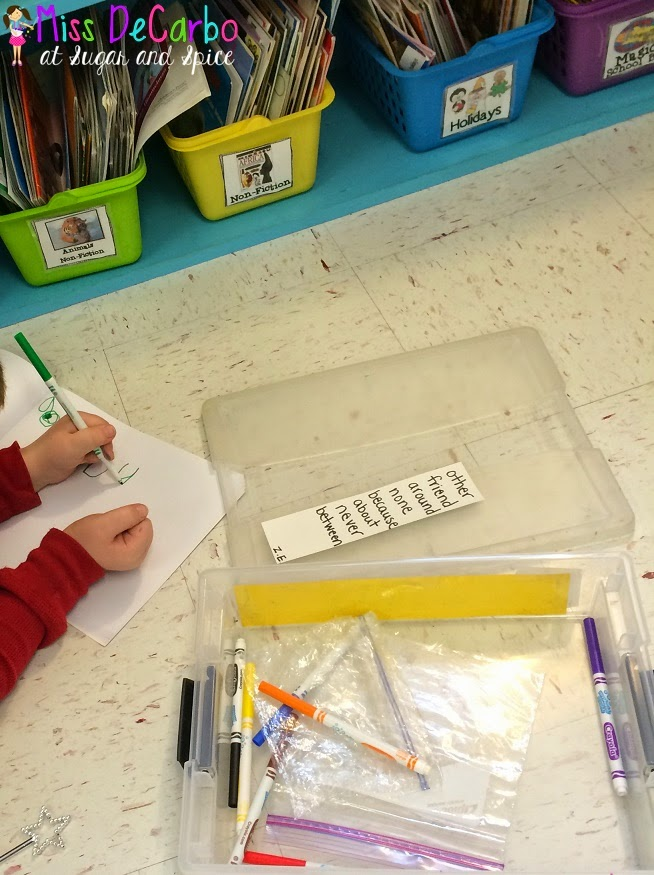 Differentiate Word Work through Student Choice! Word work activities, classroom management, and tips to help all students work on words at their own level during centers and Daily 5 time.
