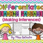 Differentiated Instruction for Making Inferences!
