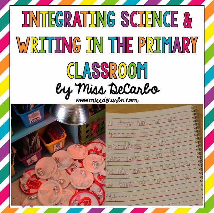 Science Experiment + Science Journals = Learning Love!