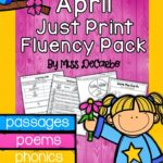 Springtime Success & April Just Print Fluency!