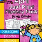 Springtime Success & April Just Print Fluency!