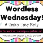 Wordless Wednesday Word Work!