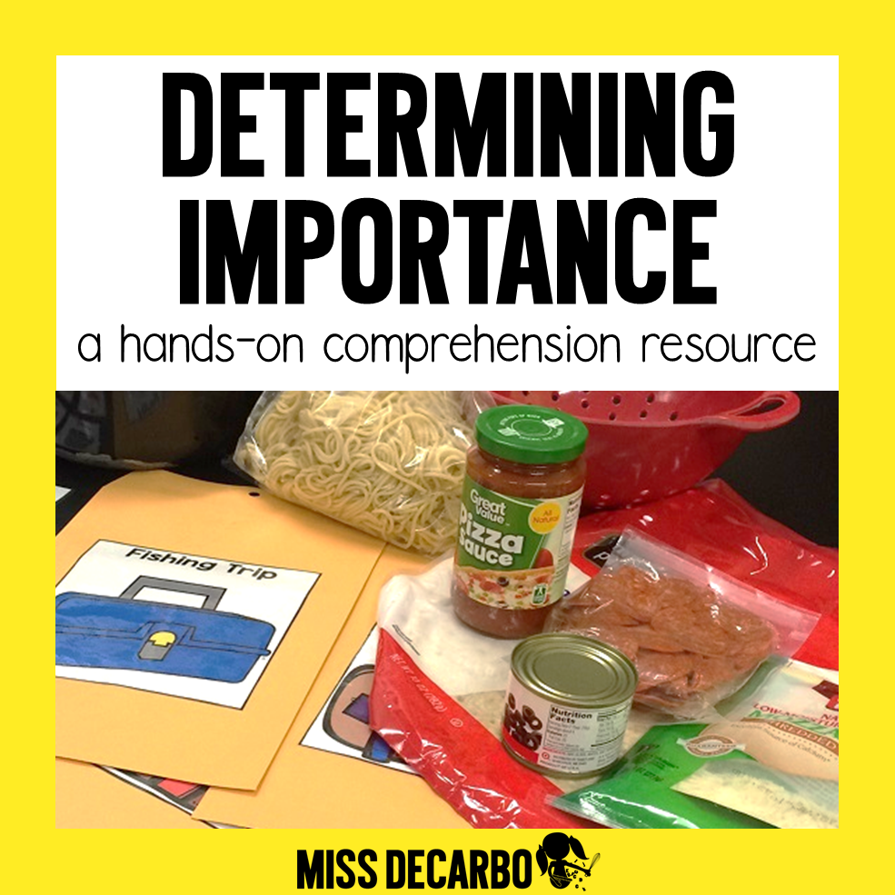 Determining Importance Comprehension Pack for Primary Readers