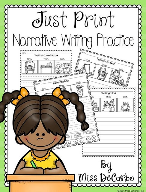 Narrative Writing Practice!