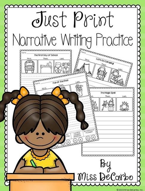Narrative Writing Practice!