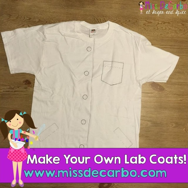 Make Your Own Science Lab Coats!