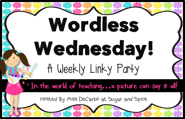 Wordless Wednesday: Student Desk Organization!