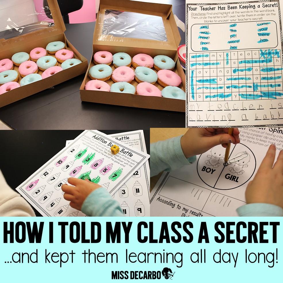 How I Told My Class A Secret!