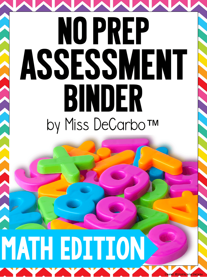 No Prep Math Intervention Binder - packed with intervention ideas, resources, and activities for kindergarten, first grade, and second grade math students
