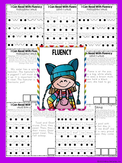 fluency passages for reading intervention binder- No Prep Reading Intervention Binder ELA Edition 2: Packed with phonics and fluency activities, ideas, resources, printables, and word lists for small groups, RTI, one on one intervention and instruction, and literacy groups. Great for teachers, volunteers, and intervention specialists. Tons of reading intervention ideas and strategies by Miss DeCarbo!