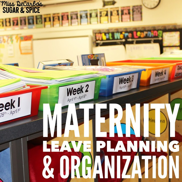 Maternity Leave Planning & Organization