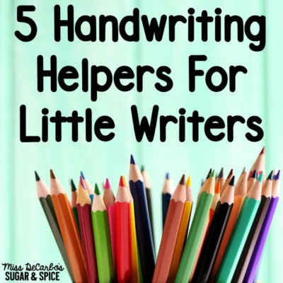 Handwriting Helpers for Little Writers