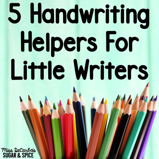handwriting helpers for little writers miss decarbo. Black Bedroom Furniture Sets. Home Design Ideas
