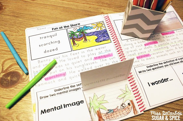 How to implement interactive reading passages in the classroom. FREE reading passage sample to try out in your small groups. Interactive reading passages focus on vocabulary, comprehension questions, text evidence, context clues, and fluency!