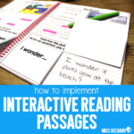 How To Implement Interactive Reading Passages