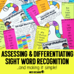 Assessing and Differentiating Sight Word Recognition