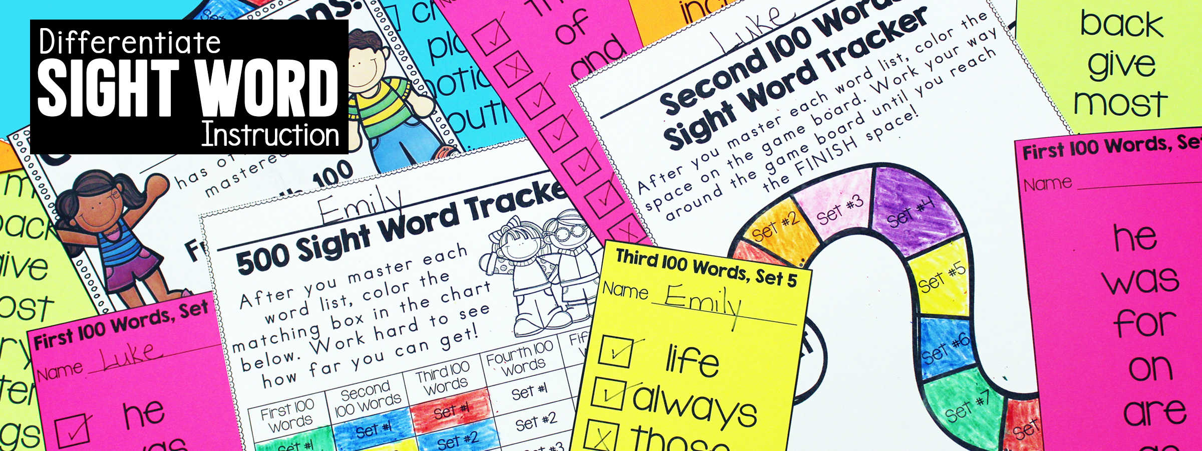 Differentiate Sight Word Instruction