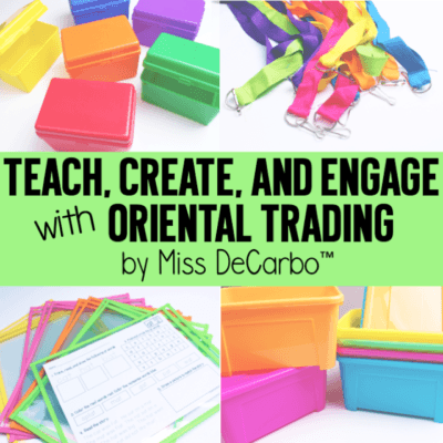 Teach, Create, and Engage with Oriental Trading!
