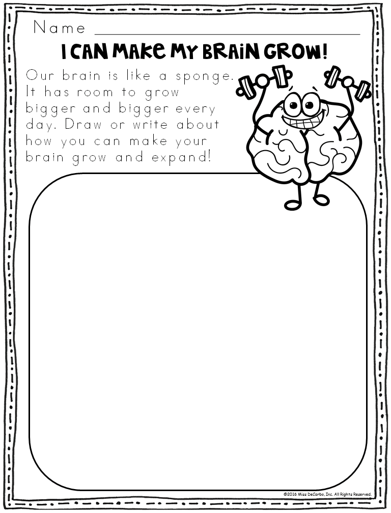 Growing Brain Lab Report and Reflection Pages