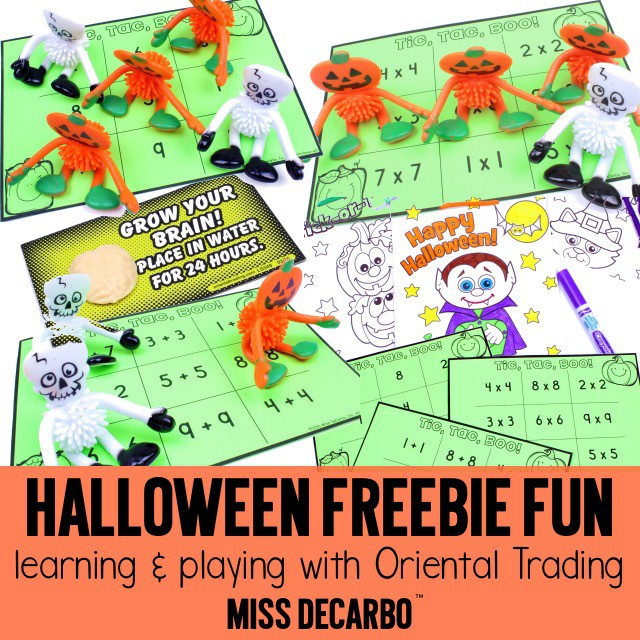 Halloween Freebie Fun Learning Games And Free Printables For Classroom Parties Or Theme