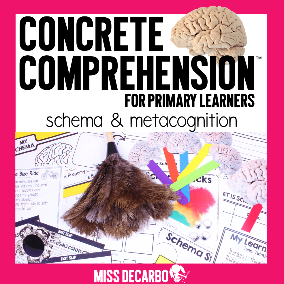 Christina explains the importance of explicitly teaching about metacognition and schema to primary learners. This blog post features ideas, resources, tips, and tricks for bringing schema and metacognition to life!