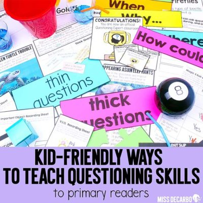 Teaching Questioning to Primary Readers