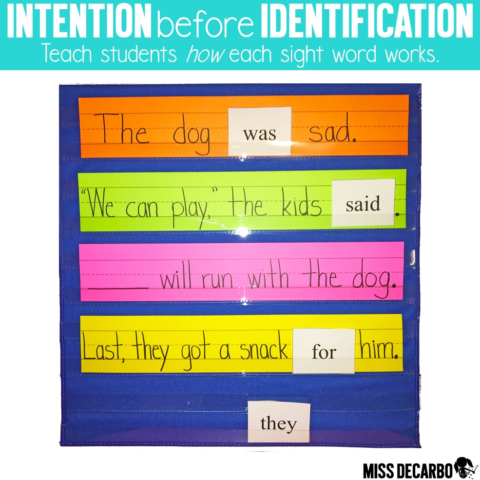 Learn three ways to help students who struggle with sight word recognition and identification within the primary classroom. Learn how to introduce sight words, play with sight words, and practice sight words within the context of a story.