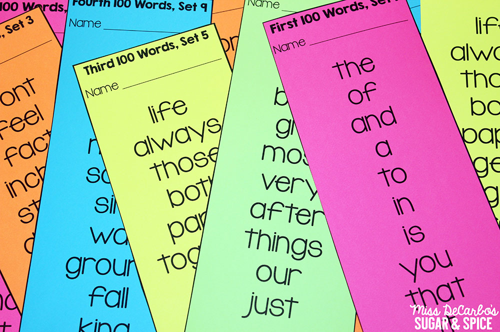 Word work ideas for sight word spelling miss decarbo i have six word work bins in my classroom each bin is filled with exactly the same word work activity after a week or two i switch out the materials in sciox Image collections