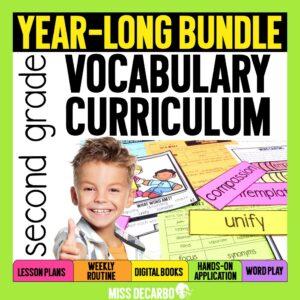 Second Grade Vocabulary Curriculum
