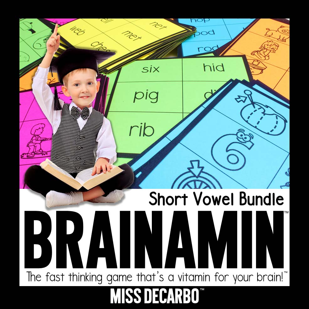 How Visual Processing Skills Can Impact Reading Fluency - Get a FREE short a Brainamin phonics game for your classroom!