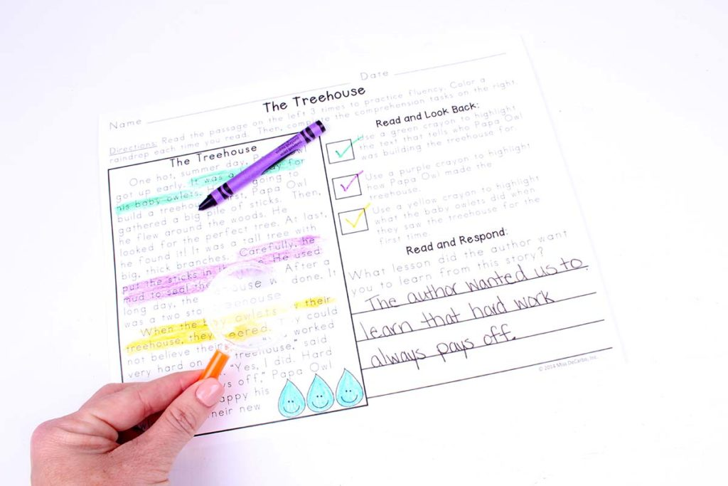 Use magnifying glasses to make text evidence practice fun and engaging! This blog post has tons of lessons, activities, strategies, and tips for teaching text evidence comprehension skills to your primary readers.