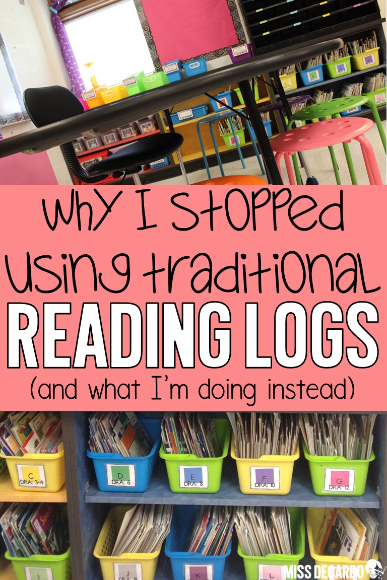 Check out why I stopped using traditional reading logs in my classroom, and learn how I renovated the reading log to make it intentional for comprehension and nightly reading.