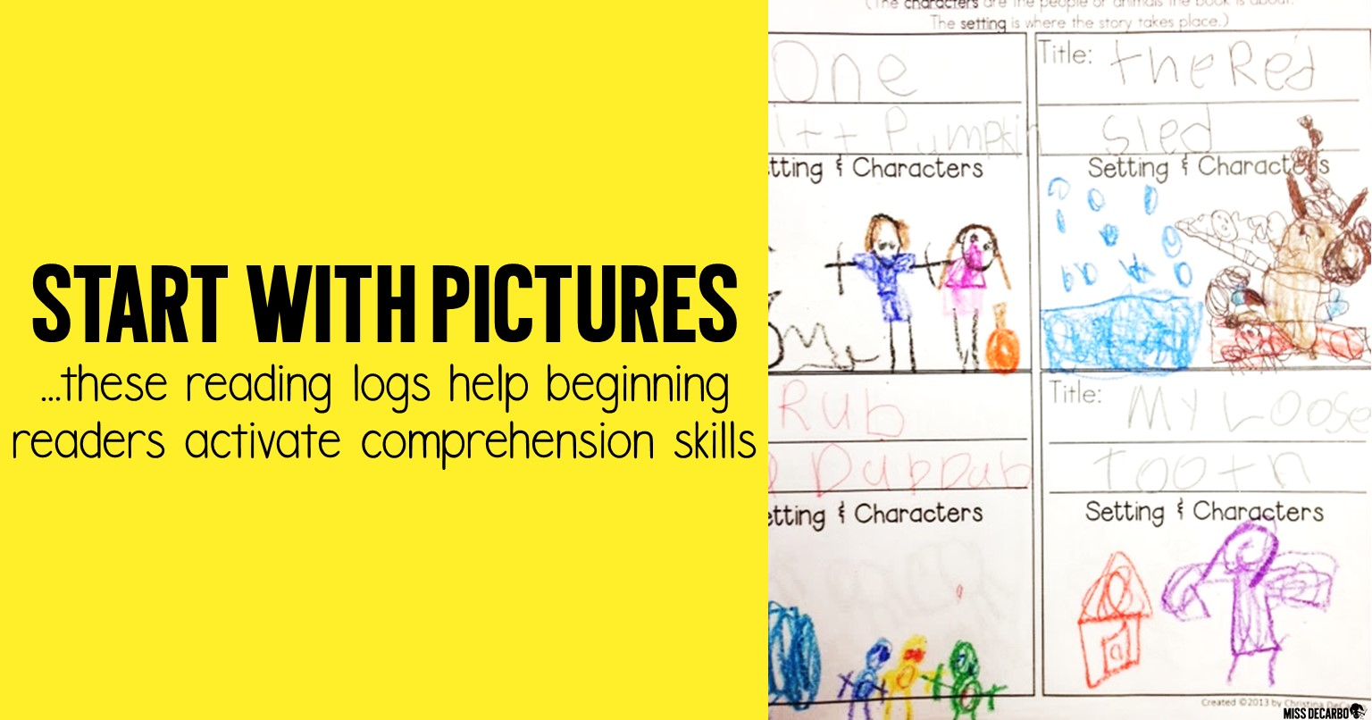 Kindergarten and first grade reading logs with a twist! Check out why I stopped using traditional reading logs in my classroom, and learn how I renovated the reading log to make it intentional for comprehension and nightly reading.