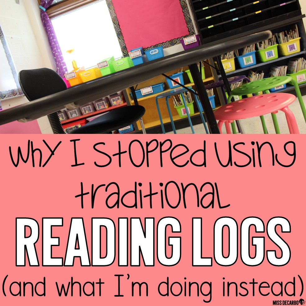 Reading Logs for Comprehension and Nightly Reading